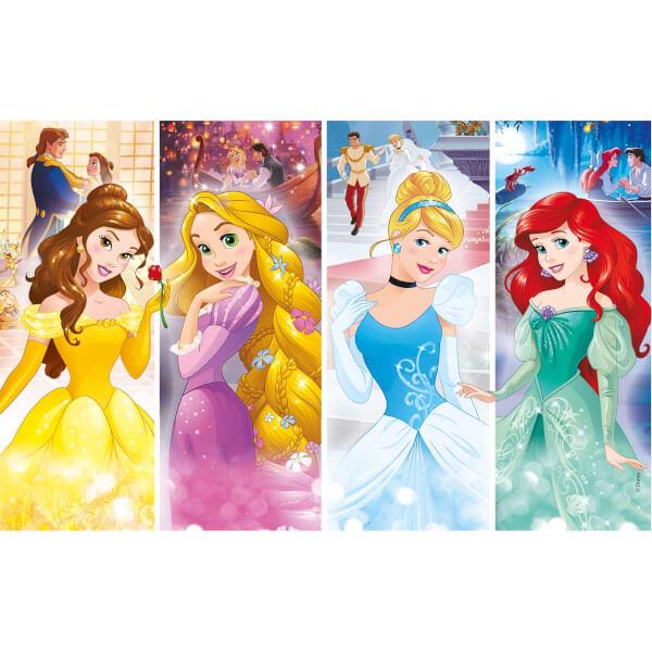 2x20 Parça Puzzle : Disney Prensesler
