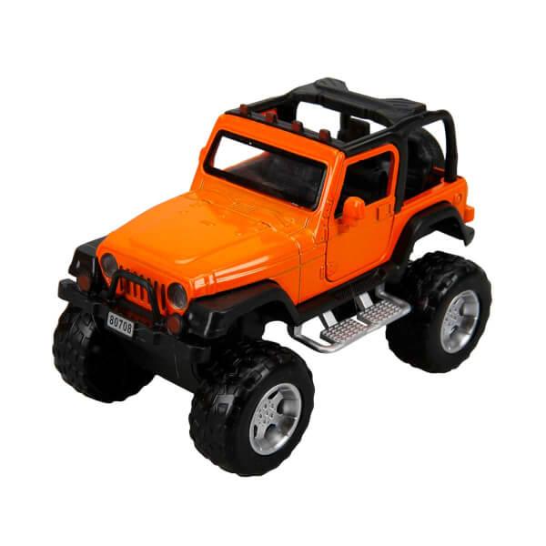 Sesli ve Işıklı Safari Jeep 13 cm.