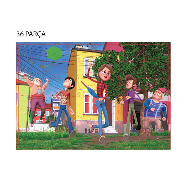 36x48 2in1 Parça Puzzle: Rafadan Tayfa