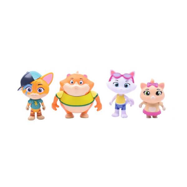 44 Kedi 4 Lu Figur Set 34185 Toyzz Shop