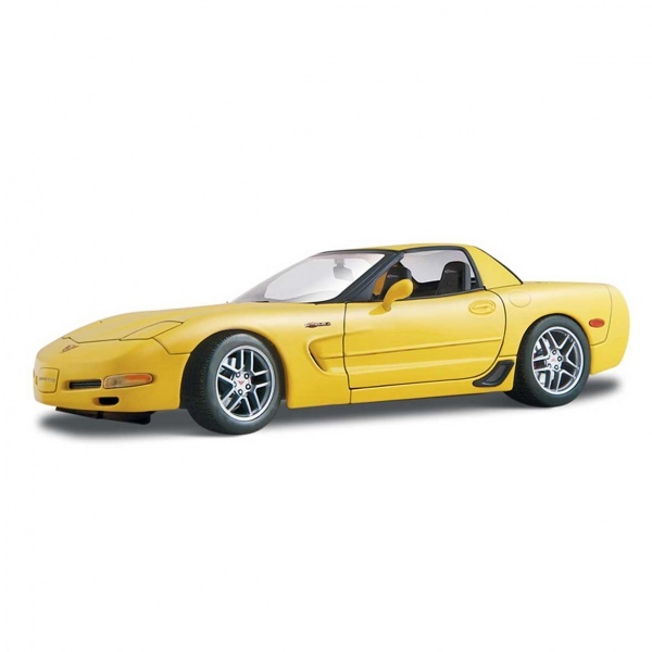 1:18 Maisto Chevrolet Corvette Z06 2001 Model Araba