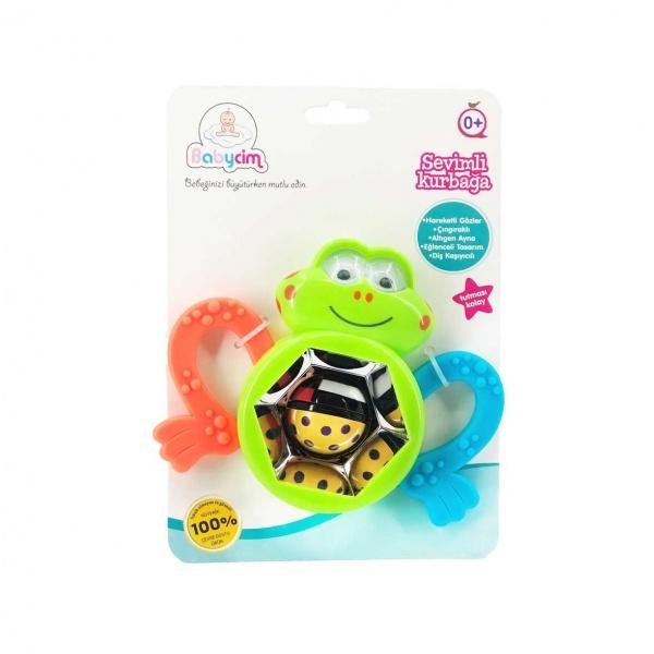 Babycim Çıngıraklı Sevimli Kurbağa Dişlik