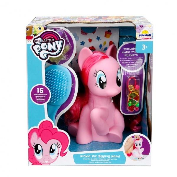 My Little Pony Pinkie Pie Saç Tasarım Seti