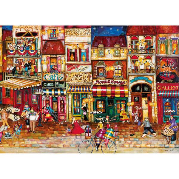 1000 Parça Puzzle : Fransız Sokakları