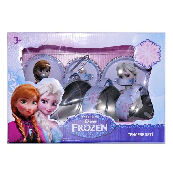 Frozen Metal Tencere Seti 7 Parça