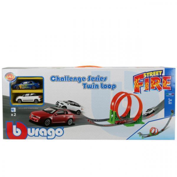 1:43 Street Fire 2 Arabalı Yarış Seti