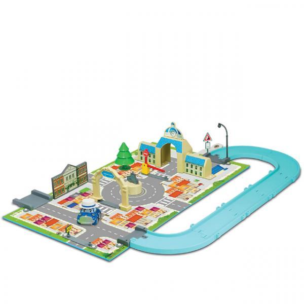 Robocar Poli Kitap Kasaba Belediye Binası Oyun Seti