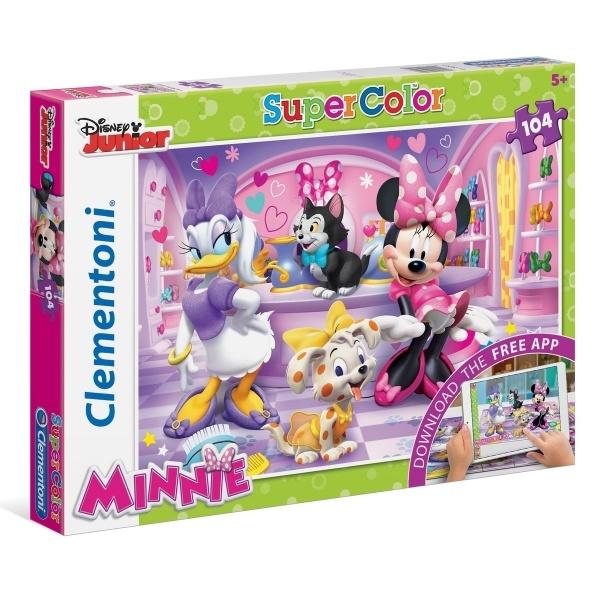 104 Parça Puzzle : Minnie App