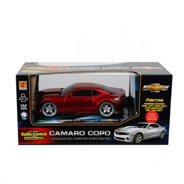 1:24 Uzaktan Kumandalı Işıklı Camaro Copo