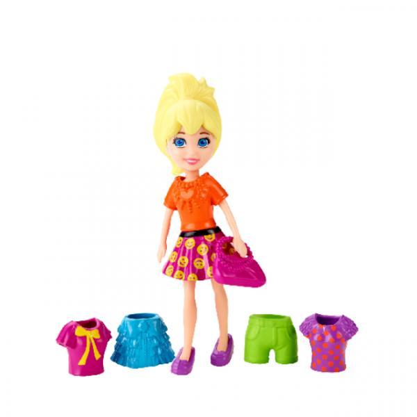 Polly Pocket ve Renkli Kıyafetleri