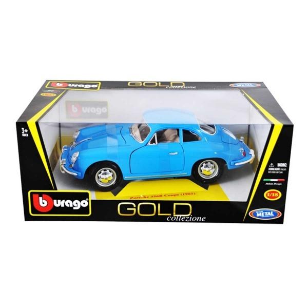 1:18 Porsche 356B Coupe 1961 Araba