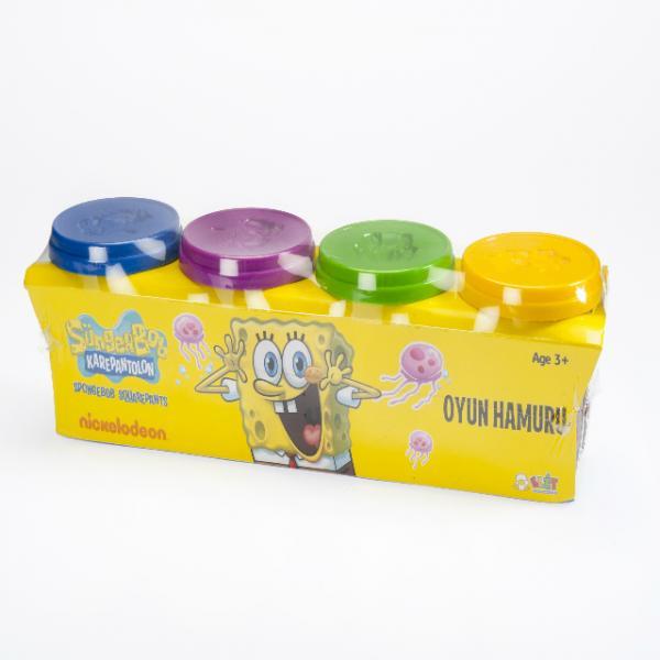 SpongeBob 4lü Oyun Hamuru