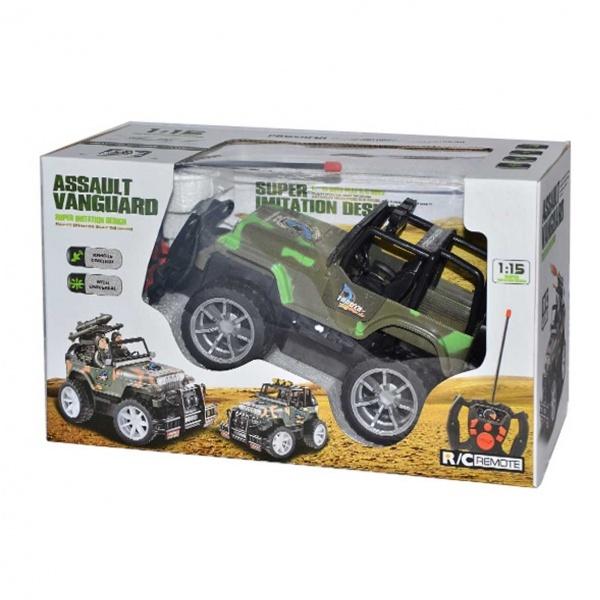 1:15 Uzaktan Kumandalı Jeep Assault Araba 25 cm
