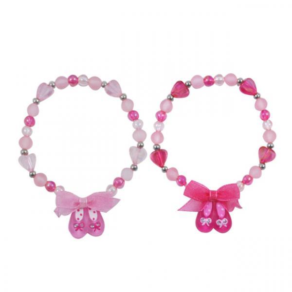 Pink Poppy Bale Ayakkabılı Bileklik