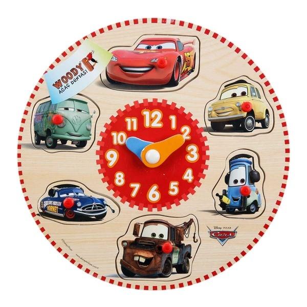 Cars Ahşap Bultak Raptiyeli Saat