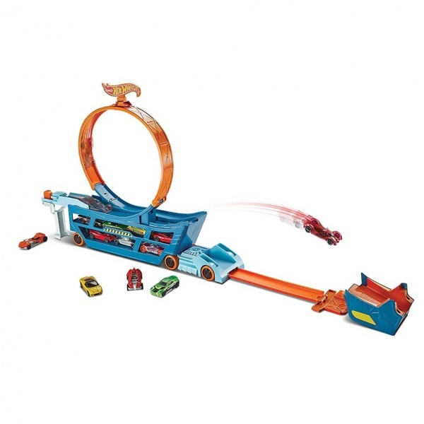 Hot Wheels Transporter Atlayış Seti DWN56