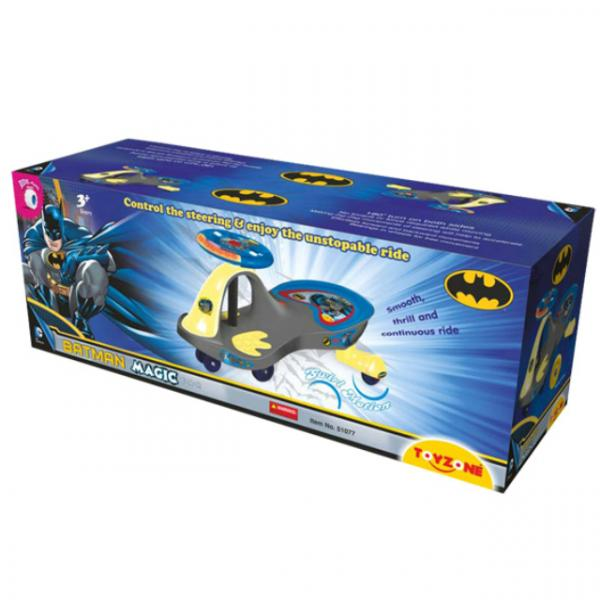 Magic Car Batman - Superman