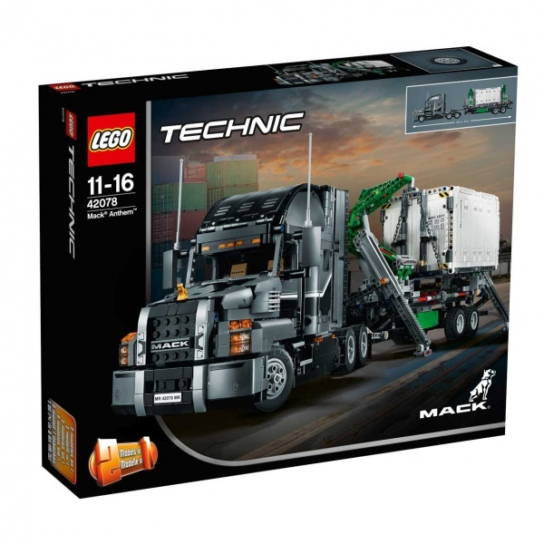 LEGO Technic Confidential Truck 42078