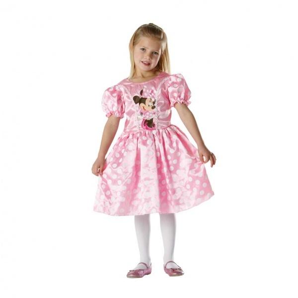 Minnie Pembe Kostüm M Beden