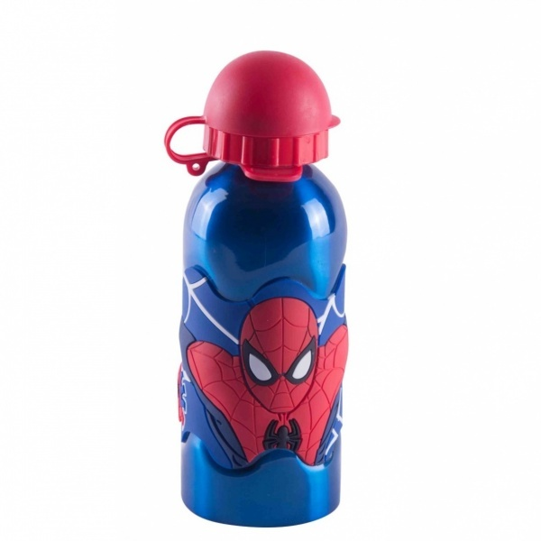 Spiderman Çelik Matara 400 ml.