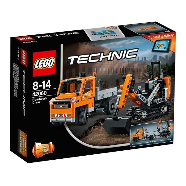 LEGO Technic Yol Çalışması Ekibi 42060