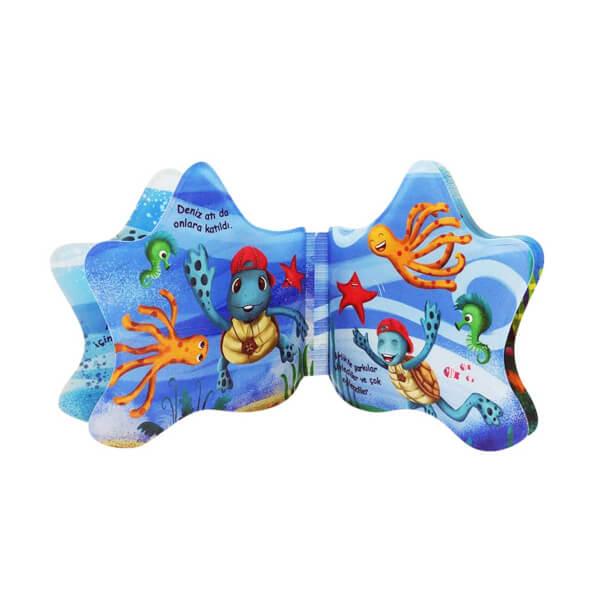 Sesli Kaplumbağa Meritta - Plaj ve Banyo Kitabı