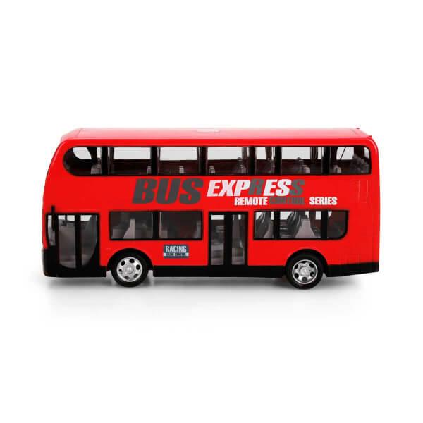 Uzaktan Kumandalı Işıklı Çift Katlı Otobüs