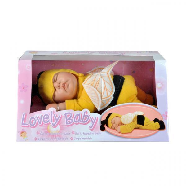 Hayvan Kostümlü Uyuyan Bebek