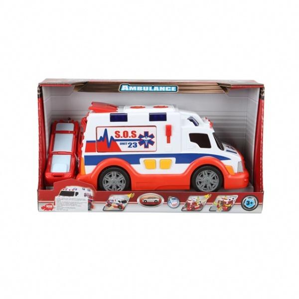 Sesli ve Işıklı Ambulans 33 cm.