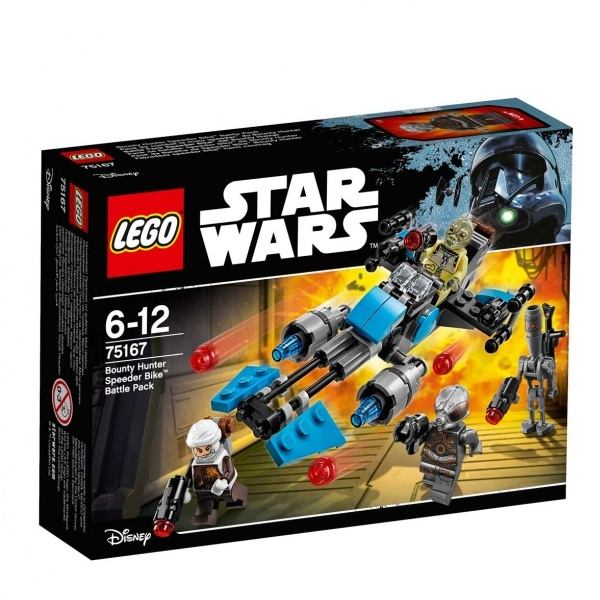 LEGO Star Wars Bounty Hunter Speeder Çarpışma Seti 75167