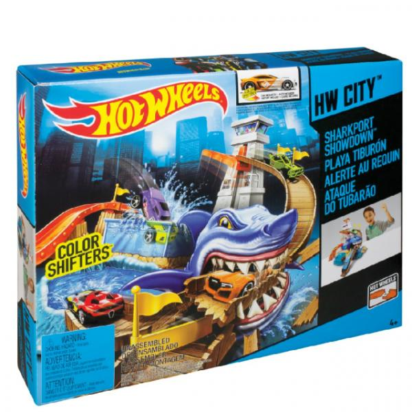 Hot  Wheels Sharky Yarış Seti