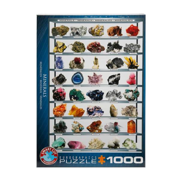 1000 Parça Puzzle : Minerals
