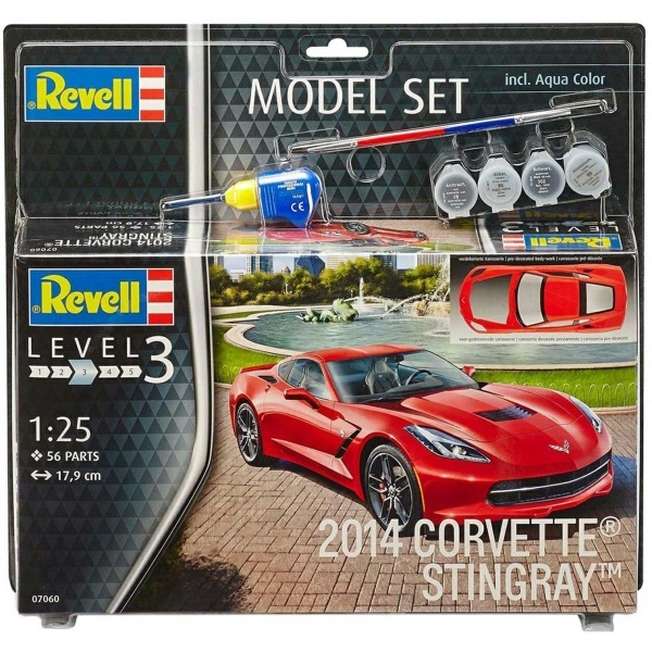 Revell 1:25 Corvette ST Model Set Araba