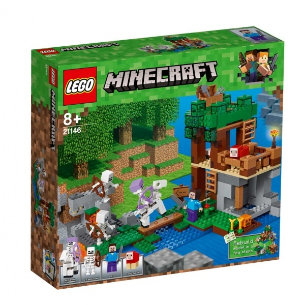 LEGO Minecraft İskelet Saldırısı 21146