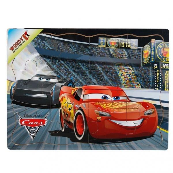Cars Ahşap Puzzle 12 Parça