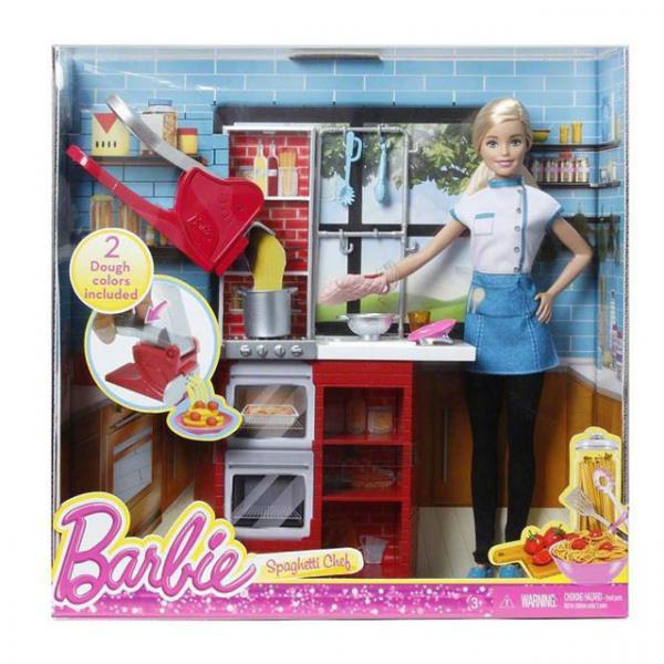 Spagetti Şefi Barbie Oyun Seti