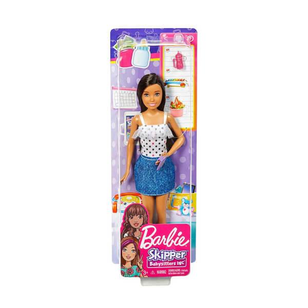 Barbie Bebek Bakıcısı Barbie Bebekler FHY89