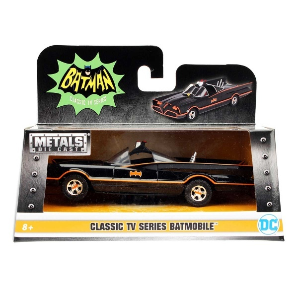 1:32 Batman 1966 Metal Batmobile