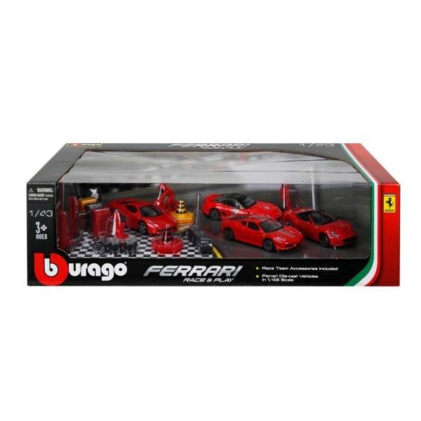 1:43 Ferrari Araç Seti 4'lü