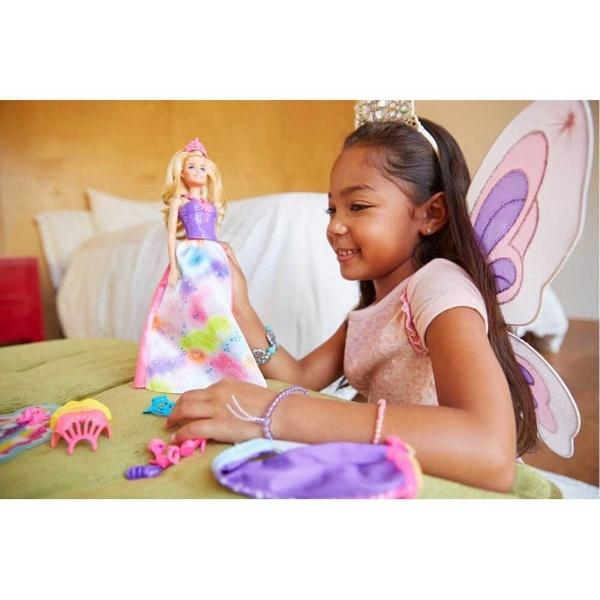 Barbie Dreamtopia Dönüşen Prenses FJD08