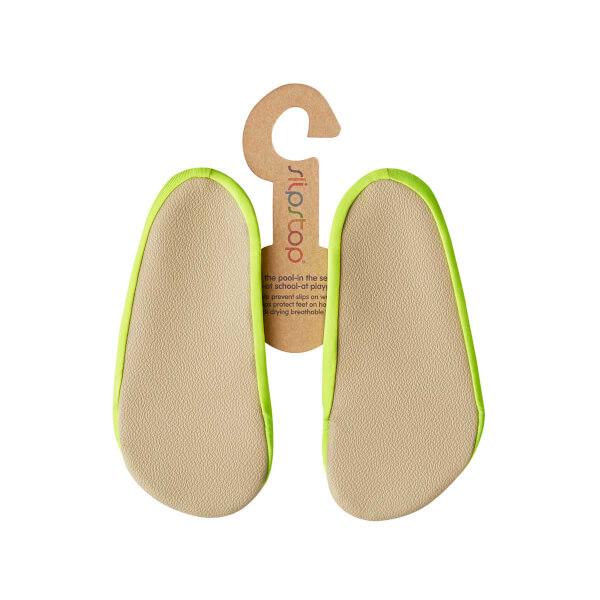 Slipstop Neon Yellow Junior Deniz ve Havuz Ayakkabısı