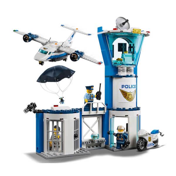 LEGO City Police Gökyüzü Polisi Hava Üssü 60210