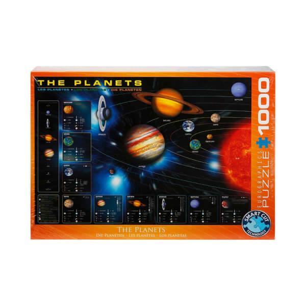 1000 Parça Puzzle : The Planets