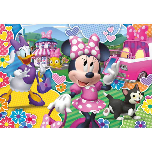 2x20 Parça Puzzle : Minnie Happy Helpers