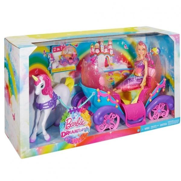 Barbie Hayaller Ülkesi Faytonu