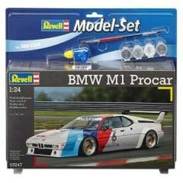 Revell 1:24 BMW M1 Procar Model Set Araba