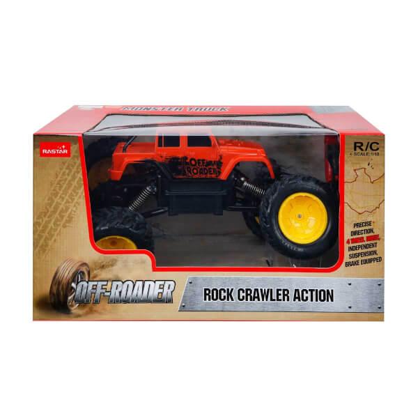 1:18 Rock Crawler Uzaktan Kumandalı Aksiyon Aracı