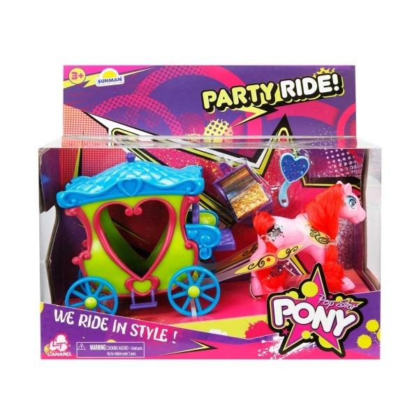 Pop Star Pony Parti Yolculuğu