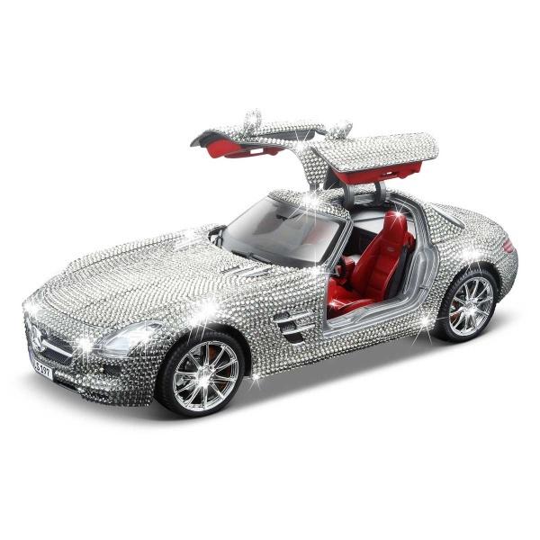 1:18 Maisto Mercedes-Benz SLS AMG Swarovski Taşlı Model Araba