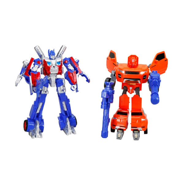 Işıklı 2'li Power Robot